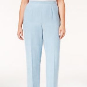 Alfred Dunner Dove Blue Pants Size 22W NWT